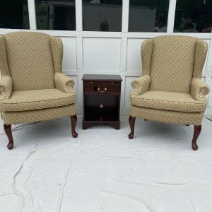 Photo of Queen Anne Wing Chairs