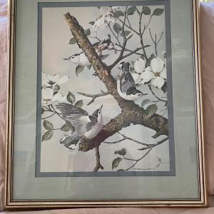 Photo of Vintage Basil Ede Bird Print