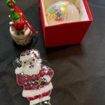 3pc Christmas Ornament Lot
