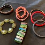 8 pc Modern Bracelet Jewellery Lot