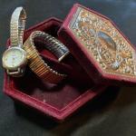 Watch, band and Jewelry Box Lot