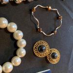 6 pc mixed Costume Jewelry Lot