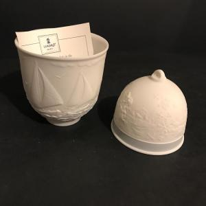 Photo of Lot 292: Lladro Collector Society - 1994 Bell And 1997 Cup