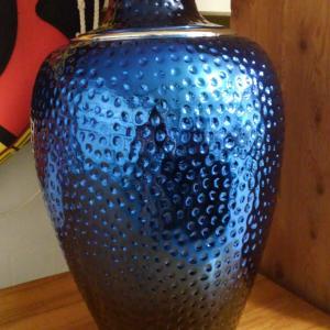 Photo of Blue Lamp Base