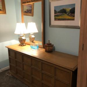 Photo of Lot 81 - Mid Century Modern Dresser w/ Mirror