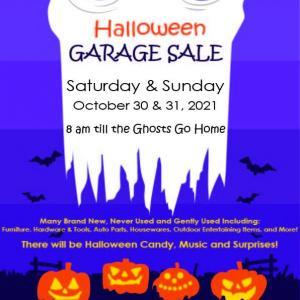 Photo of Halloween Garage Sale