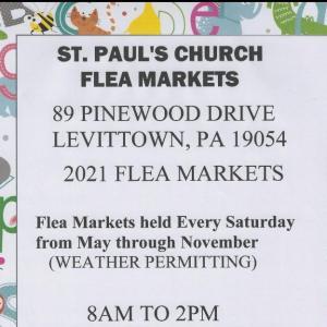 Photo of St. Paul's Levittown Flea Market - EVERY SATURDAY!*
