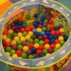 Photo of Collapsible Ball Pit (Kid-Safe)