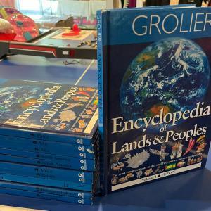 Photo of Grolier Encyclopedia Sets