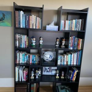 Photo of Crate & Barrel Puzzle Bookcase Black