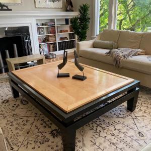 Photo of Birdseye Maple Coffee Table