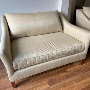 Photo of Crate & Barrel Keely Loveseat