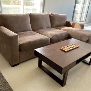 Photo of Coffee Table with slide-out drawer