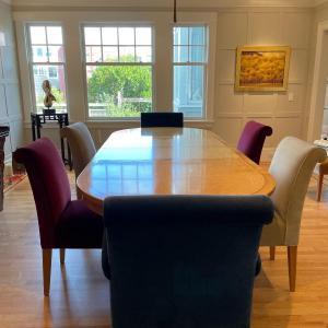 Photo of Birdseye Maple Dining Table
