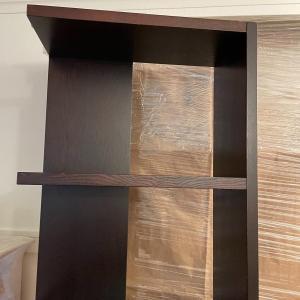 Photo of Narrow Tall Black Bookcase