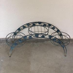 Photo of Vintage Metal Arch Plant Stand