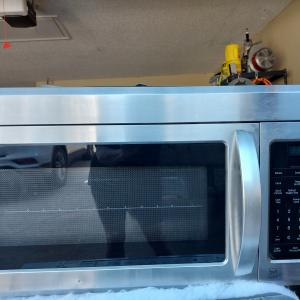 Photo of MICROWAVE MOUNTS ABOVE STOVE