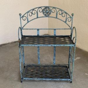 Photo of Lot 85 - Vintage Metal Wall or Counter Shelves