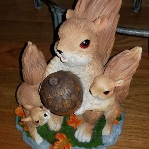 Photo of Solar Squirrel Family