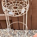 LOT 92-Wrought Iron Plant Stand