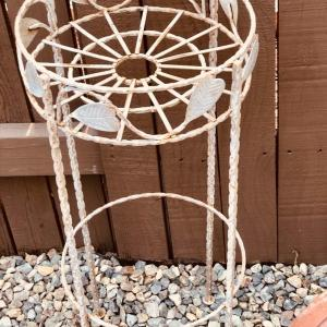 Photo of LOT 92-Wrought Iron Plant Stand