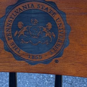 Photo of Penn State Chair