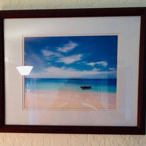 Photo of LOT 95: Sky, Sea & Sand: Framed Photograph
