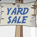 Barn Yard Sale Saturday Oct 30