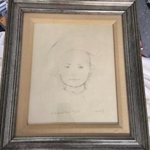 Photo of Edna Hibel Artist proof 25/25