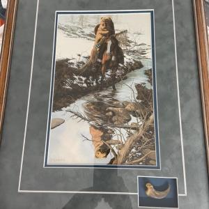 Photo of Bev Doolittle Spirit of the Grizzly with Bear Tooth