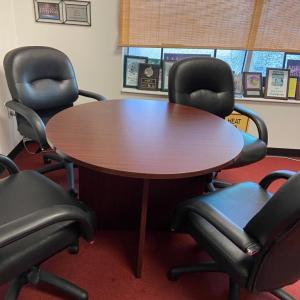 Photo of Conference Table with 4 Chairs