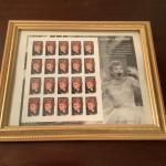 """D988 Set of """"I Love Lucy"""" Framed Stamps"""