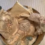 J979 Handmade Purse, Pillow, Gloves, Haircombs