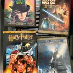 CD's and DVD's movies like new, rare