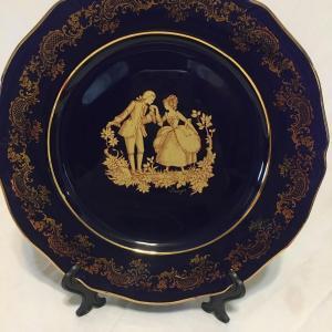 Photo of Llimoges Castel France 22k gold plate