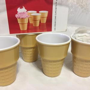 Photo of Cone Cups Set 4 New