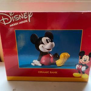 Photo of Mickey bank