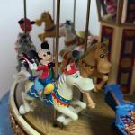 Lot 130: A Mickey Holiday Carousel, Mr. Christmas