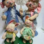 Lot 131: Annalee Spring Dolls