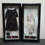 """Lot 133: Tonner Doll """"Chicago"""" Costume Sets: Roxie Court Room, Finale Outfit"""