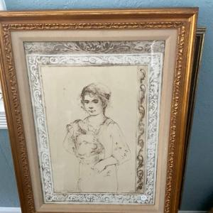 Photo of Edna Hibel limited and signed