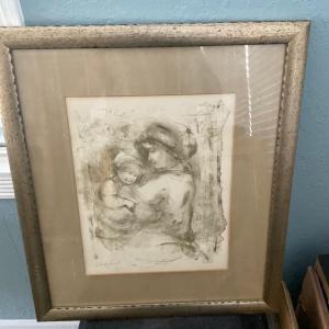 Photo of Edna Hibel Artist Proof
