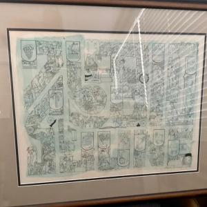 Photo of Mark Podwal Art Signed in Pencil